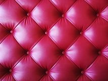 Abstract of red leather texture. For background Royalty Free Stock Photo