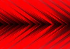 Abstract red light arrow direction design modern futuristic background vector. Illustration stock illustration