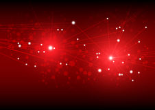 abstract red light background futuristic shape. generated abstract background royalty free illustration