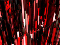 Abstract red light background Royalty Free Stock Images