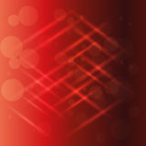 Abstract red light effect background vector Royalty Free Stock Images