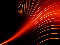 Abstract red lines Royalty Free Stock Image