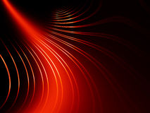 Abstract red lines Stock Images