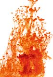 Abstract red liquid Stock Photography