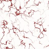 Abstract red marbled seamless background Stock Photos