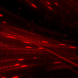 Abstract red matrix background Royalty Free Stock Images