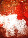 Abstract red old wall. Abstract & expressive old wall in style of contemporary art Stock Photos