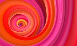Abstract red orange circle swirl background Stock Photos