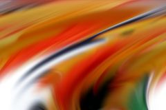 Abstract red orange colors, shades and lines background. Lines in motion. Abstract vivid pastel soft colors, shades and colorful elegant lines in motion, waves Stock Photos
