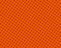 Abstract red and orange concave squares pattern Stock Images