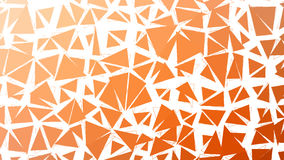 Abstract red orange gradient lowploly of many triangles background for use in design Stock Photos
