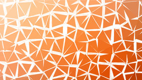 Abstract red orange gradient lowploly of many triangles background for use in design Stock Image