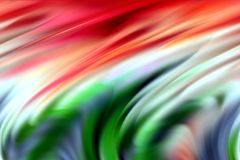 Abstract red orange green purple blue colors, shades and lines background. Lines in motion. Abstract vivid pastel soft colors, shades and colorful elegant lines Royalty Free Illustration
