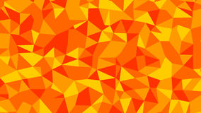 Abstract red orange lowploly of many triangles background for use in design Royalty Free Stock Photos
