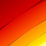 Abstract red and orange rectangle shapes Stock Photos