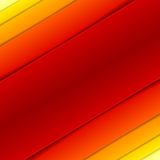 Abstract red and orange rectangle shapes Stock Images