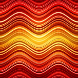 Abstract red and orange stripes waves colorful Royalty Free Stock Photo