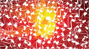 Abstract red orange triangles background Royalty Free Stock Photo
