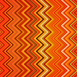 Abstract red, orange, white and black zig-zag Stock Photos