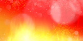 Horizontal red yellow fire flames abstract bg. Abstract red orange yellow fire flames energy background. Horizontal template royalty free illustration