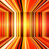 Abstract red, orange and yellow retro stripes colo Royalty Free Stock Images