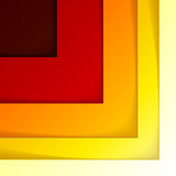 Abstract red, orange and yellow triangles Royalty Free Stock Photography