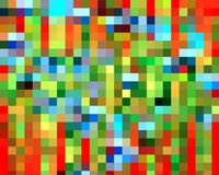 Abstract red orange yellow violet green squares graphics, geometries, background and texture. Orange red green yellow violet geometries, background and design vector illustration