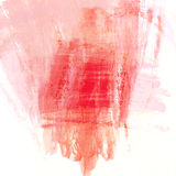 Abstract red paint brush background with scratch texture Royalty Free Stock Photography