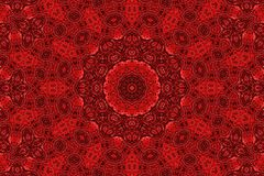 Abstract red pattern background Royalty Free Stock Image