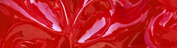 Abstract red pattern panorama Royalty Free Stock Photo
