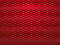 Abstract red perforated metal background. Modern style Royalty Free Stock Photo