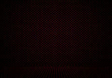 Abstract Red Polka dots background Christmas Valentines layout d Stock Image