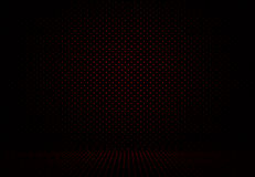 Abstract Red Polka dots background Christmas Valentines layout d Stock Photography
