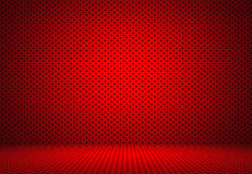 Abstract Red Polka dots background Christmas Valentines layout d Stock Photos