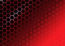 Abstract red polygon background Stock Photos