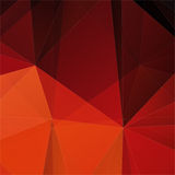 Abstract red polygon mosaic background Stock Photos