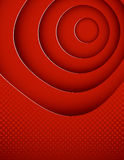Abstract red poster Stock Photography