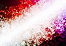 Abstract red purple color bokeh wallpaper Royalty Free Stock Photography
