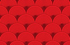 Abstract red round pattern wallpaper background stock photos