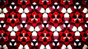 Abstract Red Ruby Fire flame  mirage bokeh pattern background. Stock Images