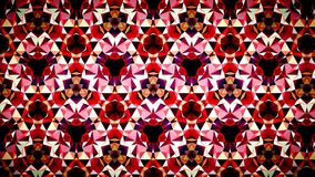Abstract Red Ruby Fire flame  mirage bokeh pattern background. Stock Photography