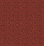 Abstract red seamless hand-drawn pattern. Stock Image