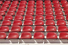 Abstract red seats Stock Images