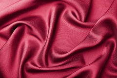 Abstract red silk background Royalty Free Stock Image