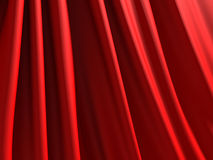 Abstract red silk satin cloth background Stock Photo