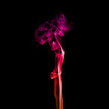 Abstract red smoke Royalty Free Stock Photos