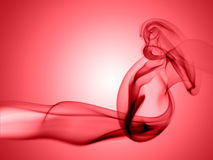 Abstract smoke. Abstract red smoke texture  on red background Stock Image