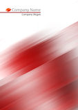 Abstract red soft background Stock Photography