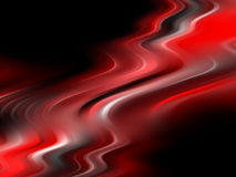 Abstract red soft flow background. Abstract red smooth flow background royalty free illustration
