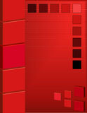 Abstract Red Square Background Stock Photography